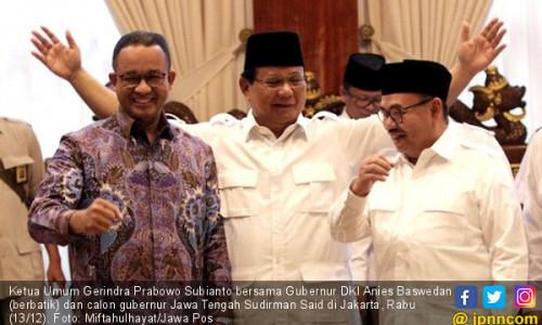 Nama Anies TaK Terdaftar sebagai Juru Kampanye Sudirman Said