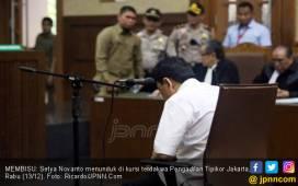 Sidang Kembali Dibuka, Novanto Tetap Ogah Bicara - JPNN.COM