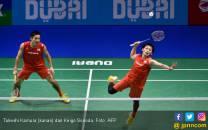 Takeshi/Keigo Buka Jalan Marcus/Kevin ke Semifinal - JPNN.COM