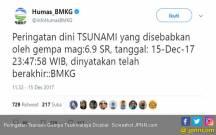 Kiper Persib Nyaris Jadi Korban Gempa - JPNN.COM