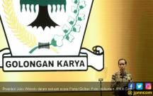 Jokowi: Saingan Berat Golkar hanya PDIP - JPNN.COM