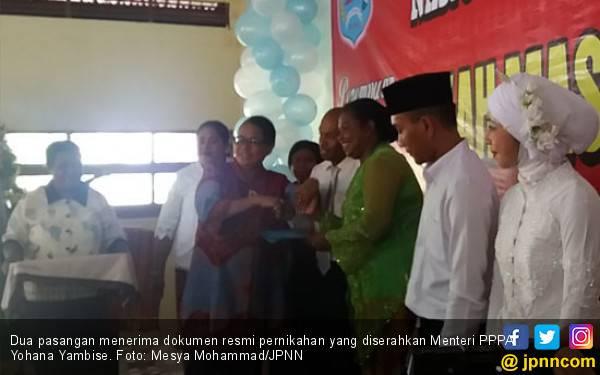 135 Pasangan Nikah Massal di Sorong - JPNN.com
