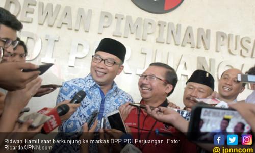 Tujuh Hari Terakhir, Timses Ridwan Kamil Tancap Gas
