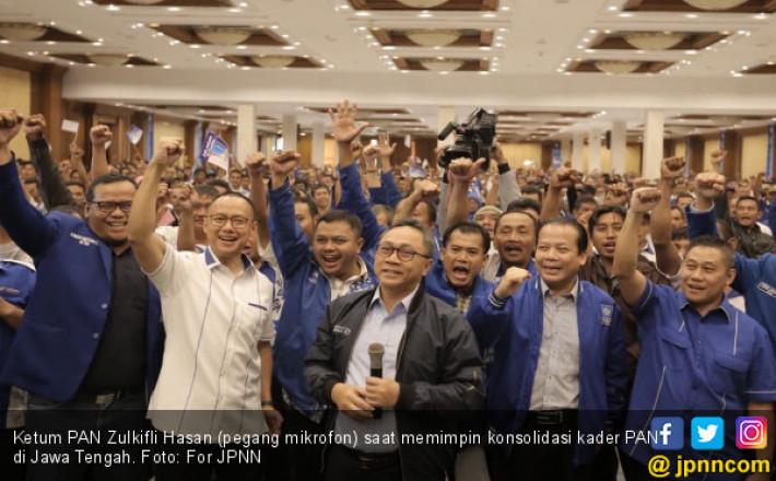 Pimpin Konsolidasi Kader PAN di Jateng, Ini Pesan Zulhasan