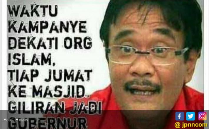 Djarot Saiful Hidayat Langsung Diserang Kampanye Hitam