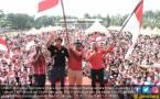 Hadiri Kirab TMP di Medan, Djarot Ajak Warga Jaga Pancasila - JPNN.COM