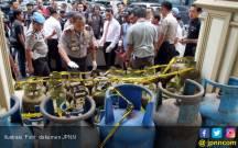Pindahkan Isi Gas Melon ke Tabung 12 Kg, Hermanto Diciduk - JPNN.COM