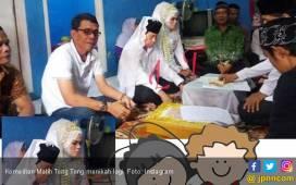Warganet Iri Lihat Malih Tong Tong Nikahi Gadis Muda - JPNN.COM