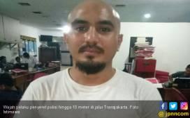 Ini Wajah Pelaku yang Seret Polisi Hingga 10 Meter - JPNN.COM