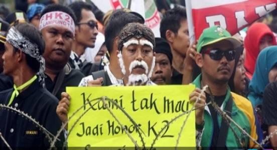 Bidan PTT Diangkat PNS, Honorer K2 juga Pasti Bisa - JPNN.COM