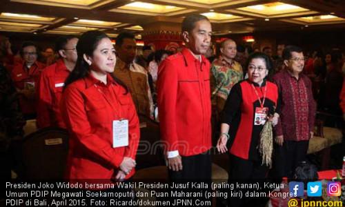 Sangat Mungkin PDIP Tak Usung Jokowi di Pilpres 2019