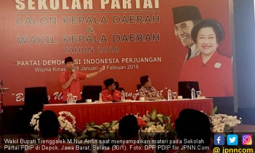 Ini Wejangan Wakil Bupati Termuda untuk Calon Kada dari PDIP