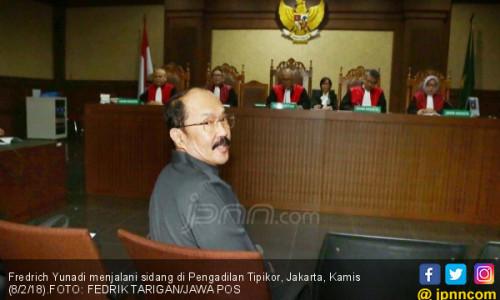 Sidang Fredrich Yunadi: Ahli Sebut Advokat Punya Imunitas