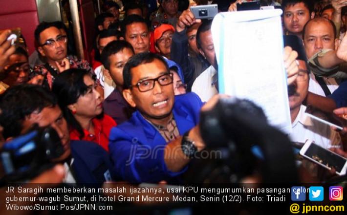 KPU Sumut Siap Hadapi Gugatan JR Saragih-Ance