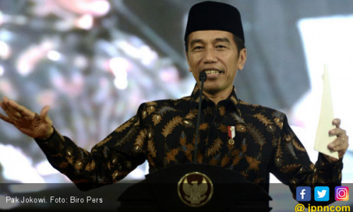 Perang Tagar, Relawan Jokowi Luncurkan #2019TetapJokowi