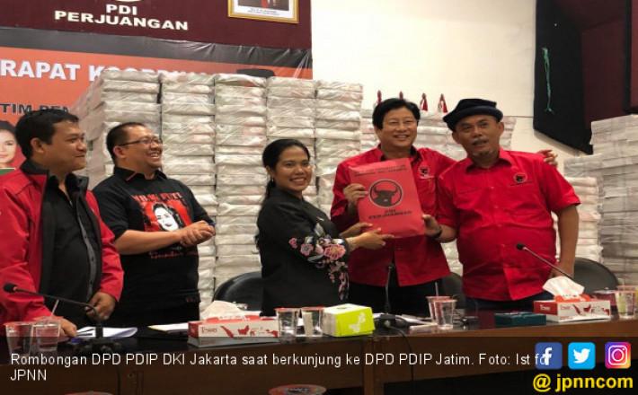 PDIP DKI Siap Turun Gunung Menangkan Gus Ipul-Puti