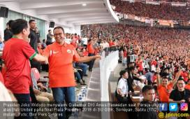 Menteri Basuki Tolak Anies Bertanggung Jawab Insiden di GBK - JPNN.COM