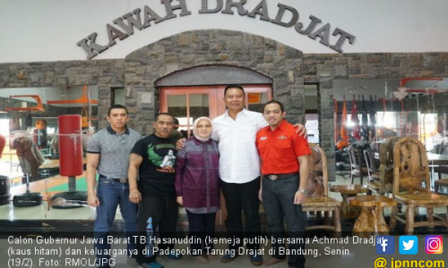 Aa Boxer Guru Besar Tarung Drajat Pilih Dukung Kang Hasan