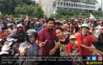 Temui Arak-arakan Jakmania, Ara Ajak Semua Pihak Jaga SUGBK - JPNN.COM