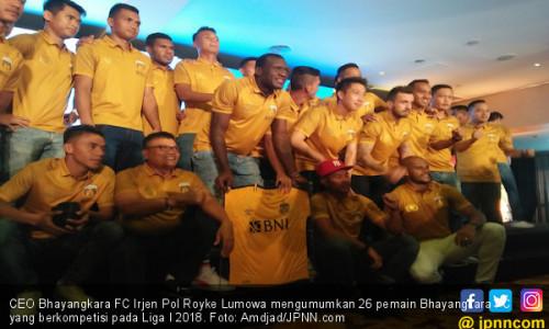 Bhayangkara FC Siap Mempertahankan Gelar