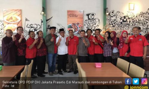 Demi Gus Ipul-Puti, Banteng Ibu Kota Blusukan di Jatim