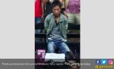 Lihat, Perampok Toko Ponsel Bonyok Diamuk Massa - JPNN.COM