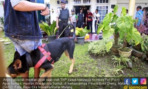 Eks Wakapolda Tewas, Anjing Pelacak Berhenti di Parkiran