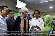 Jokowi Pamerkan Program KIS dan Tanah Abang ke Bos IMF - JPNN.com