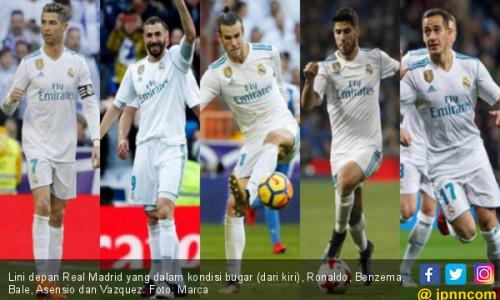 Tandang ke Espanyol, Real Madrid Bakal Rotasi Pemain