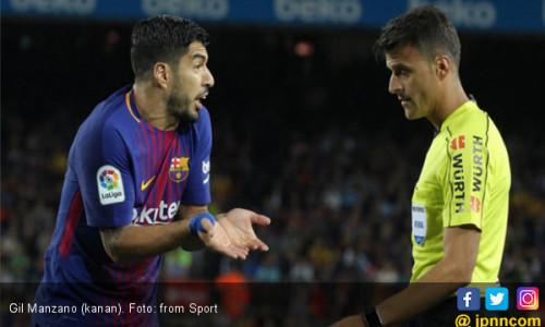 Setelah Lahoz, Giliran Gil Manzano Bikin Barcelona Cemas