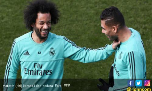 Marcelo Sembuh Jelang Real Madrid Ladeni Getafe