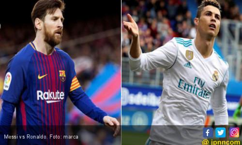 Kejar Lionel Messi, Cristiano Ronaldo Pengin jadi Pichichi