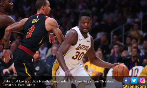Cleveland Cavaliers Tumbang di Kandang LA Lakers