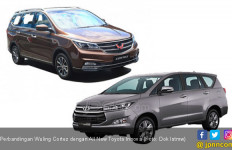 7 Sektor Perbandingan Wuling Cortez dengan Toyota Innova - JPNN.com