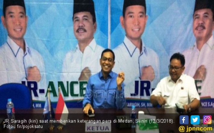 Tak Ditahan, JR Saragih: Saya Kembali Bertugas Selaku Bupati