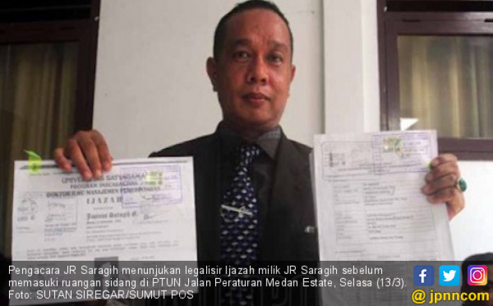 JR Saragih dan KPU Adu Bukti di PTTUN Medan