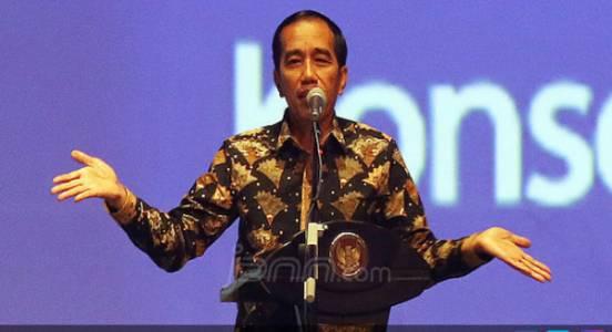 Di Rapimnas Perindo, Jokowi Singgung soal Kritik Asbun - JPNN.COM