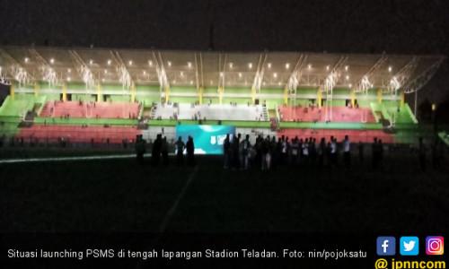 Alamak, Launching Skuat PSMS Kok Remang-Remang Begini