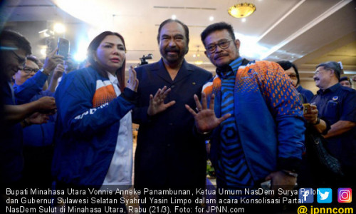Syahrul Yasin Limpo Gabung NasDem Trending di Twitter