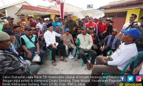 Ini Tawaran Kang Hasan ke Petani Jabar agar Hidup Sejahtera