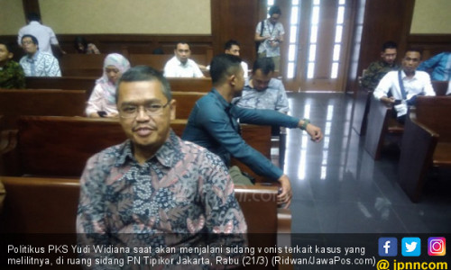 Tok Tok Tok, Legislator PKS Terbukti Terima Suap dari Aseng
