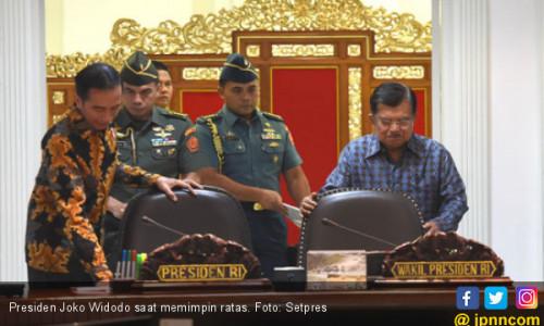 Gelar Ratas ke-11 soal Asian Games, Jokowi Bahas Keamanan