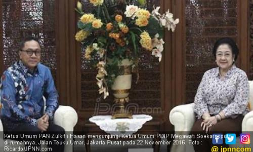 PDIP Terus Dekati Zulkifli agar PAN Ikut Usung Jokowi