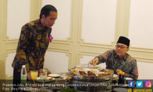 Percayalah, PAN Merasa Lebih Nyaman Bareng Jokowi