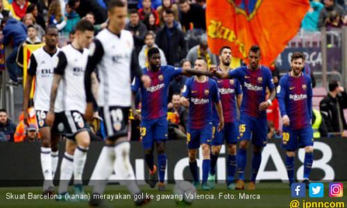 Barcelona Ukir Rekor di La Liga, 39 Laga Belum Terkalahkan