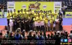 Hasil Final Proliga 2018: Bantai Bank Sumsel, Samator Juara - JPNN.COM