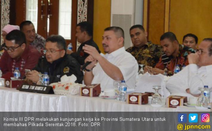 Komisi III Ajak Mitra Kerjanya Jaga Netralitas saat Pilkada