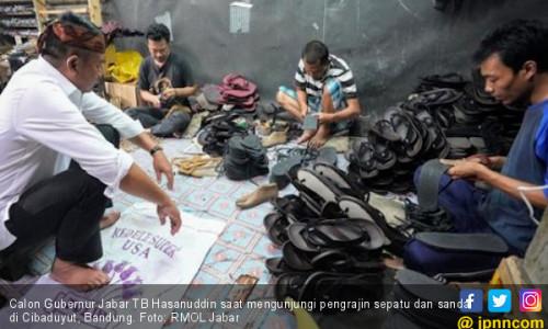 Kang Hasan Janjikan Sepatu Cibaduyut Berjaya Lagi