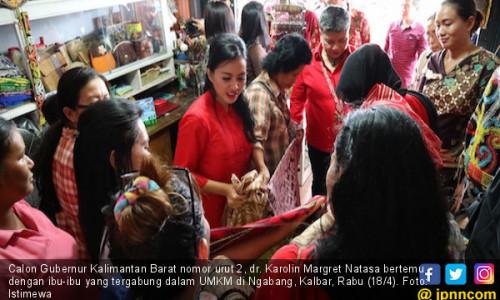 Karolin Siap Jadi Sahabat UMKM Kalimantan Barat