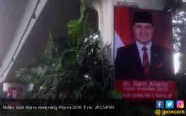 Begini Reaksi Netizen soal Keinginan Sam Aliano Lawan Jokowi - JPNN.COM